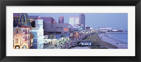 Framed Atlantic City, New Jersey Print