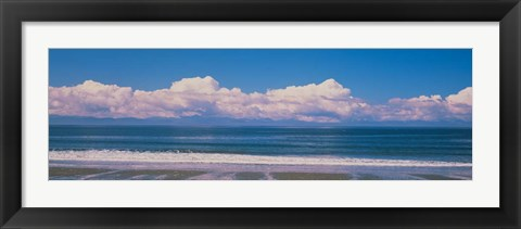 Framed China Beach, Vancouver Island British Columbia, Canada Print