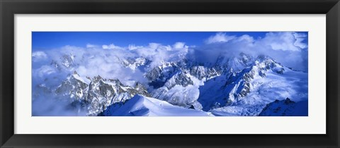Framed Aiguille du Plan Alps, France Print