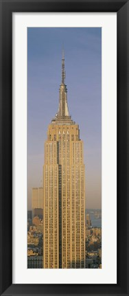 Framed Empire State Building, New York, NY Print