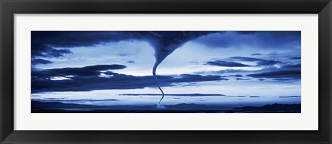 Framed Tornado in the Sky Print