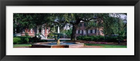 Framed Columbia Square Historic District, Savannah, GA Print