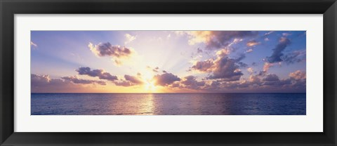 Framed Seven Mile Beach, Cayman Islands Print