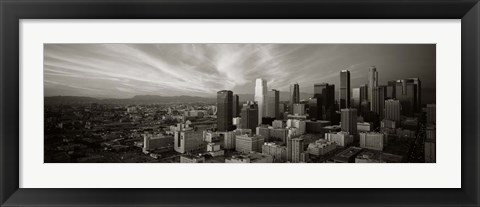Framed Los Angeles, California Print