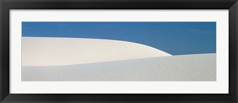 Framed White Sands National Monument, NM Print