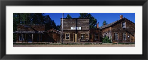 Framed Ghost Town, Nevada City, MT Print