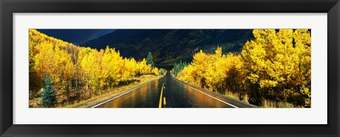 Framed Million Dollar Highway, CO Print