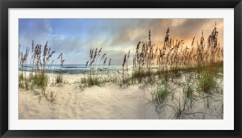 Framed Beach Pastels Print