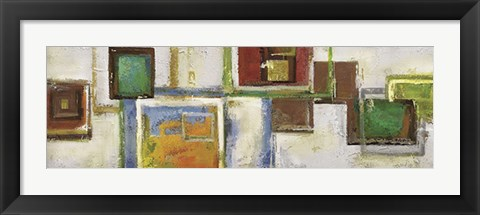 Framed Cubist Sequence Print