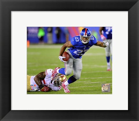 Framed Rashad Jennings 2015 Action Print