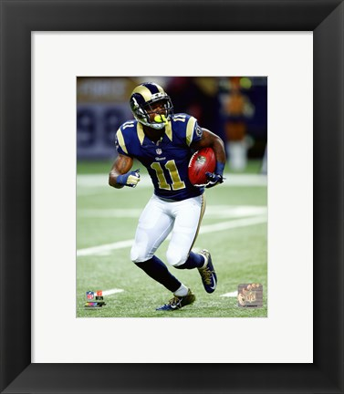 Framed Tavon Austin 2015 Action Print