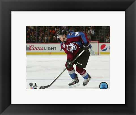 Framed Nathan MacKinnon 2015-16 Action Print