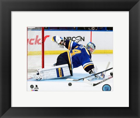 Framed Jake Allen 2015-16 Action Print