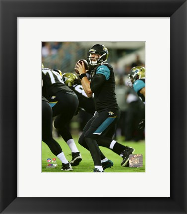 Framed Blake Bortles 2015 Action Print