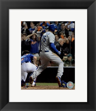 Framed Eric Hosmer scores the game tying run Game 5 of the 2015 World Series Print