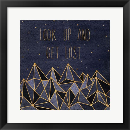 Framed Written in the Stars II Print
