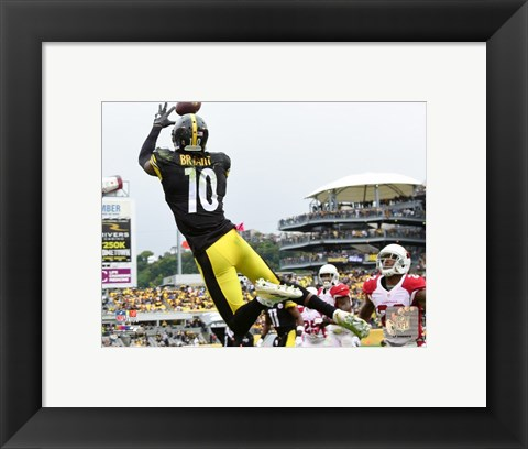 Framed Martavis Bryant 2015 Action Print
