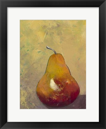 Framed Bold Fruit VI Print
