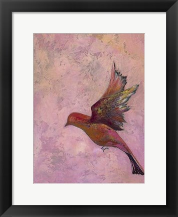 Framed Bright Wings III Print