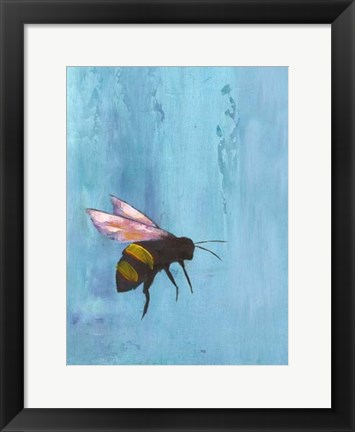 Framed Pollinators I Print
