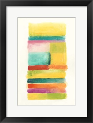 Framed Layer Cake IV Print