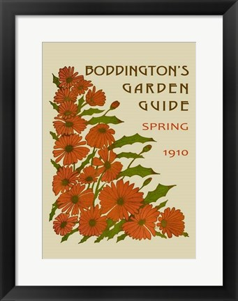 Framed Boddington's Garden Guide II Print