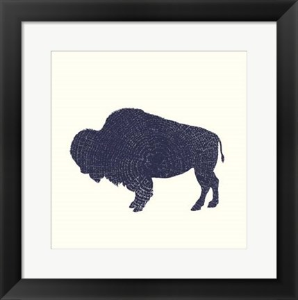 Framed Timber Animals II Print
