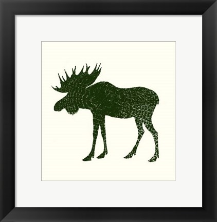 Framed Timber Animals VI Print
