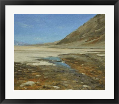 Framed Badwater Basin, Death Valley Print