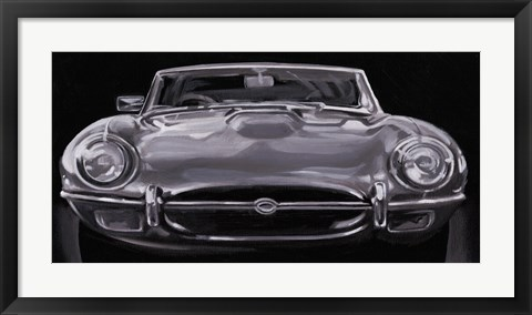 Framed European Sports Car I Print