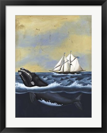 Framed Whaling Stories II Print