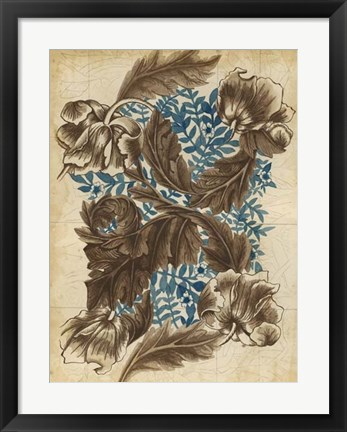 Framed Wallpaper Study II Print