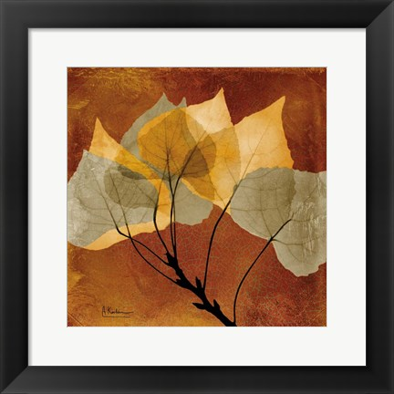 Framed Golden Aspen Print