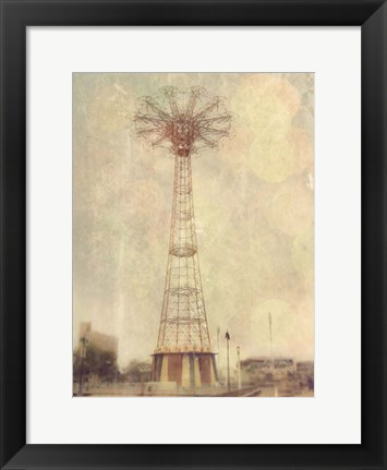 Framed Vintage Coney Print