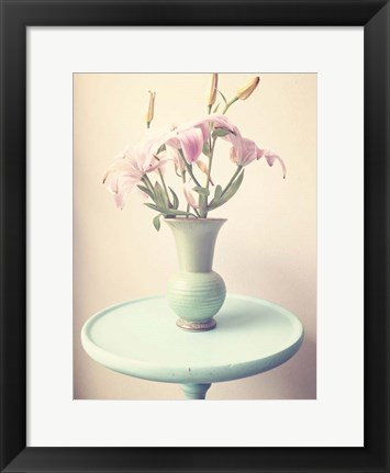 Framed Flower Table 2 Print