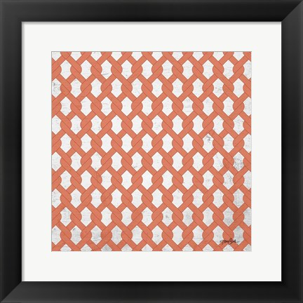 Framed Lattice 3 Print
