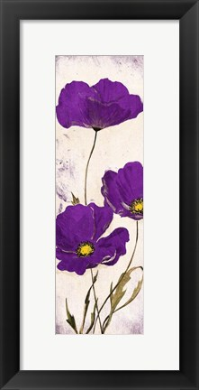 Framed Purple Look Print