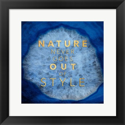 Framed Nature Style Print