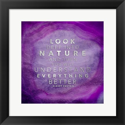 Framed Look Nature Print