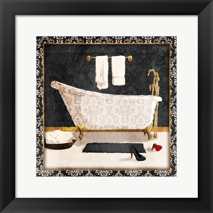 Framed Traditional Bath Print