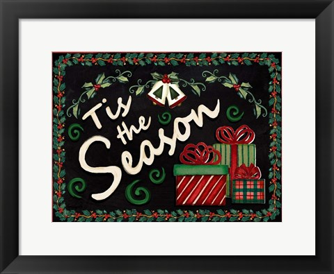 Framed Tis the Season Print