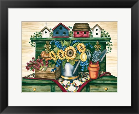 Framed Country Life Print