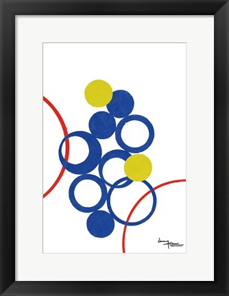 Framed Rings Popped Print