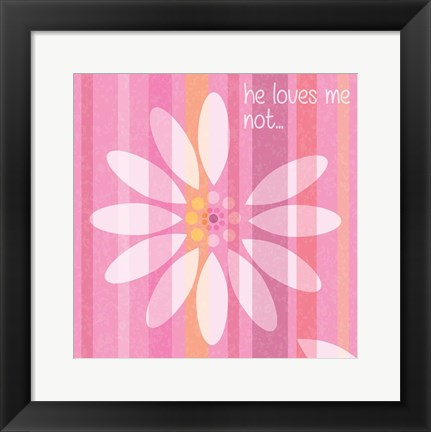Framed Spring Romance Pairs 05 Print