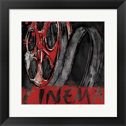 Framed Sketched Cinema Print