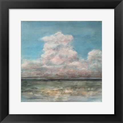 Framed Cloud In The Distance Print