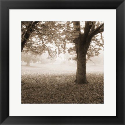 Framed Eventide Park No Table Print