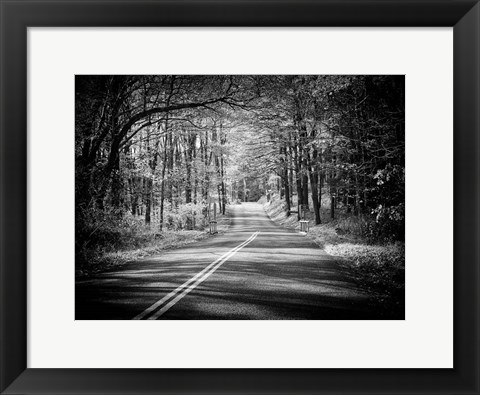 Framed Country Road 1 Print