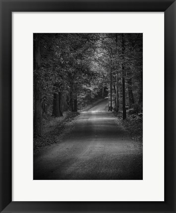 Framed Dark Passage 1 Print