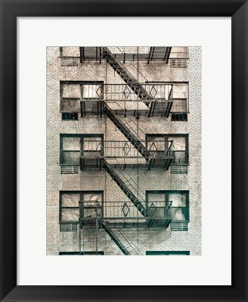 Framed City Escapes 3 Print